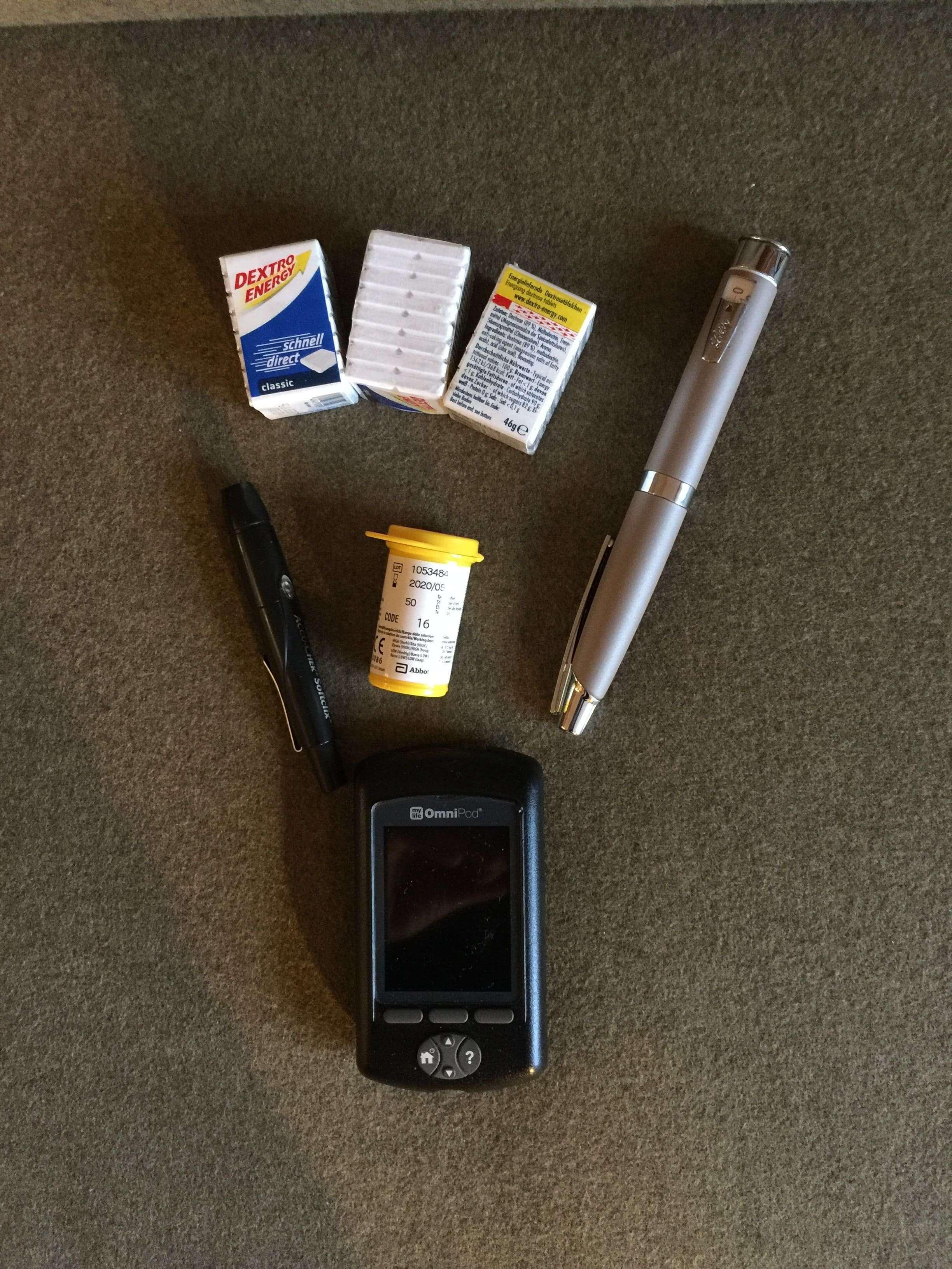 Urlaub mit Diabetes: Meine Diabetesaüsrüstung